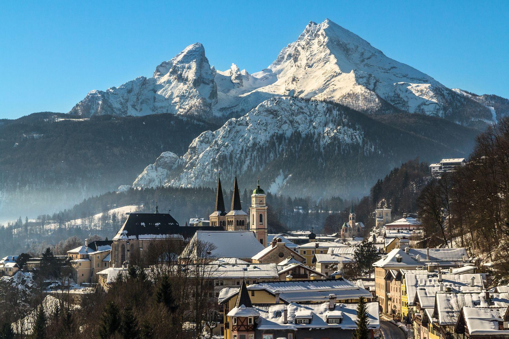 Berchtesgaden Schnee