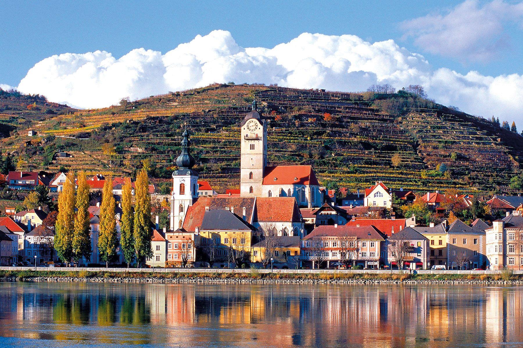 Donau Passau Wien Krems stein neu web