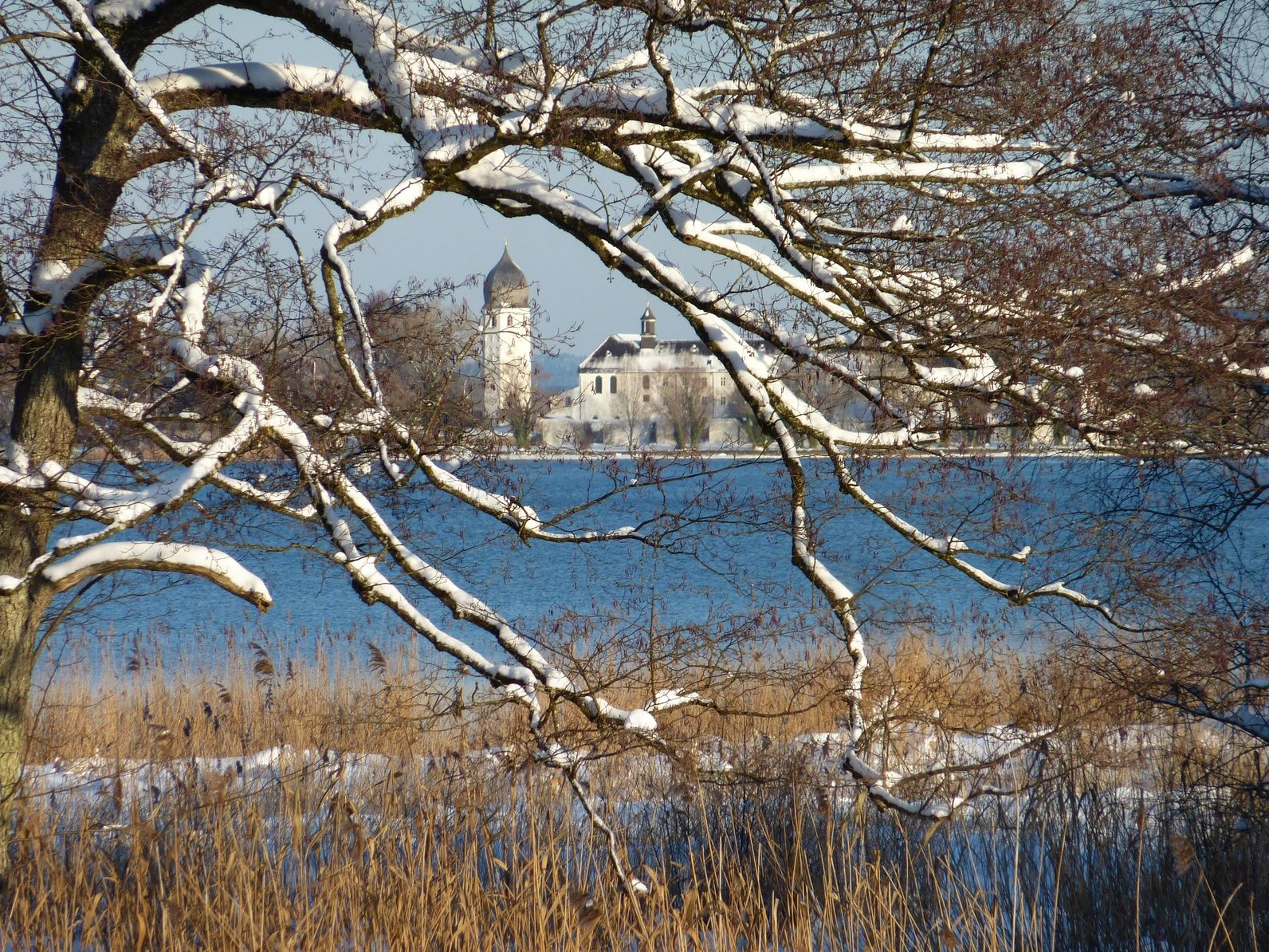 Fraueninsel Winter