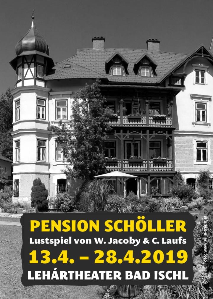 Pension Scholler Plakat