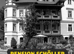 Pension Scholler Plakat