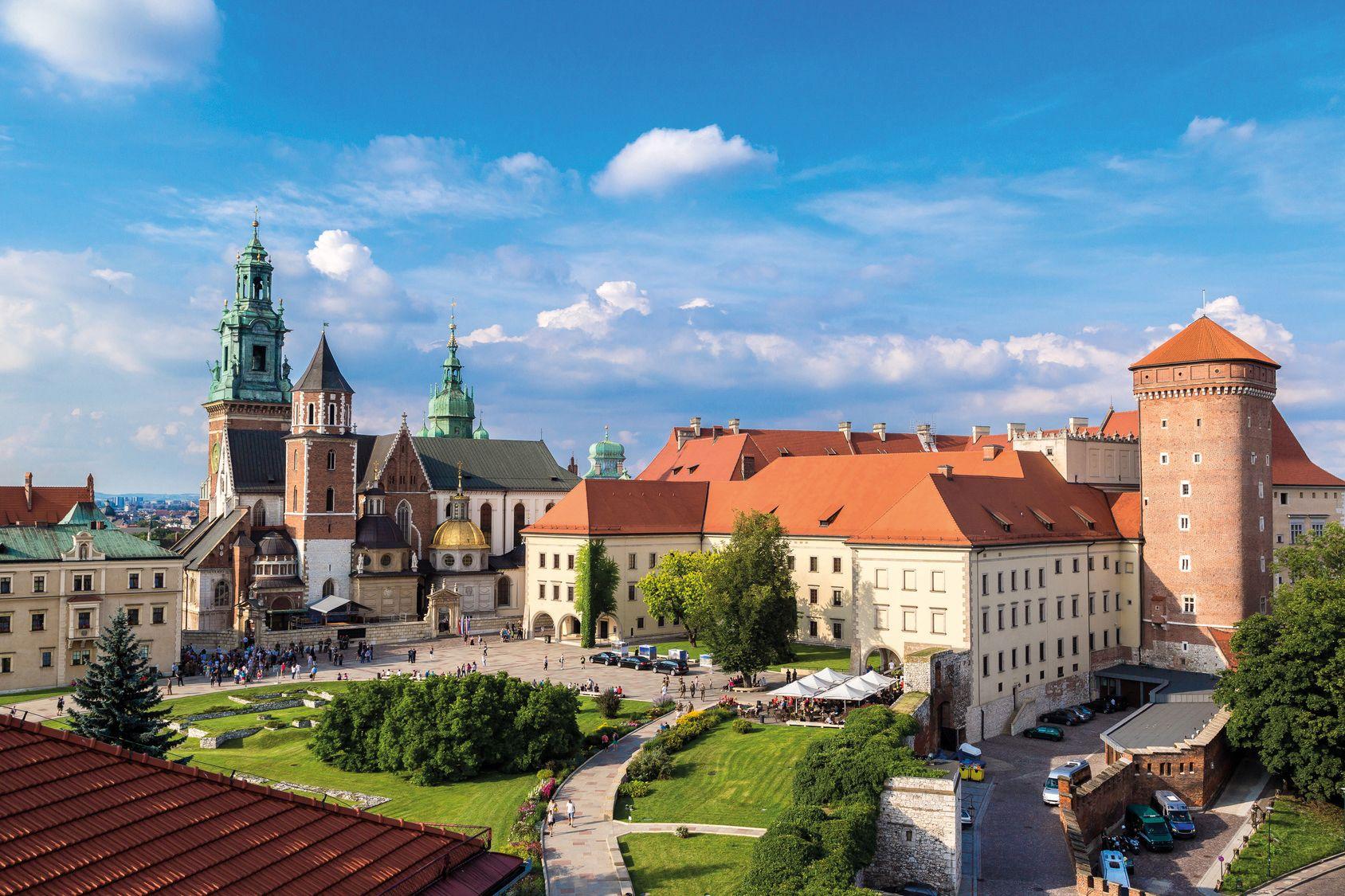 Krakau Wawel1